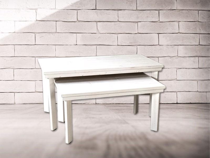 ホワイトエイジングテーブル